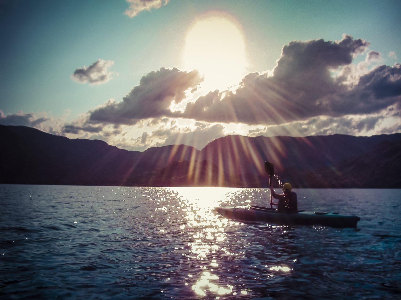 Piragüismo en el Lago de Sanabria